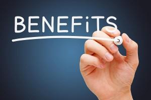 Benefits White Marker