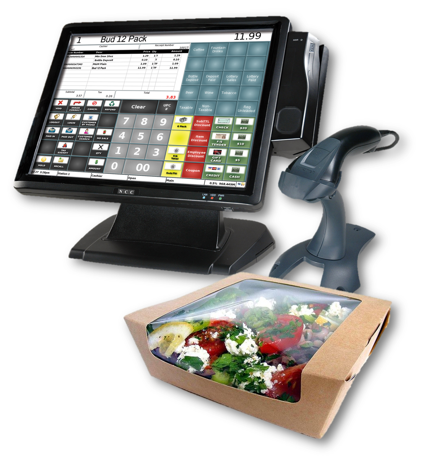 corporate cafeteria pos