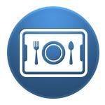 corporate cafeteria icon